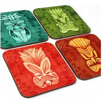 tropical coasters